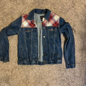 GAP + Pendleton Denim Jacket with Flannel